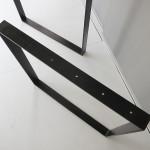 黒染めしたテーブル用の鉄脚