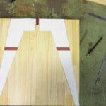 スツール脚 型紙