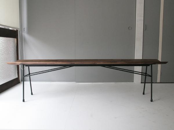 iron legs bench