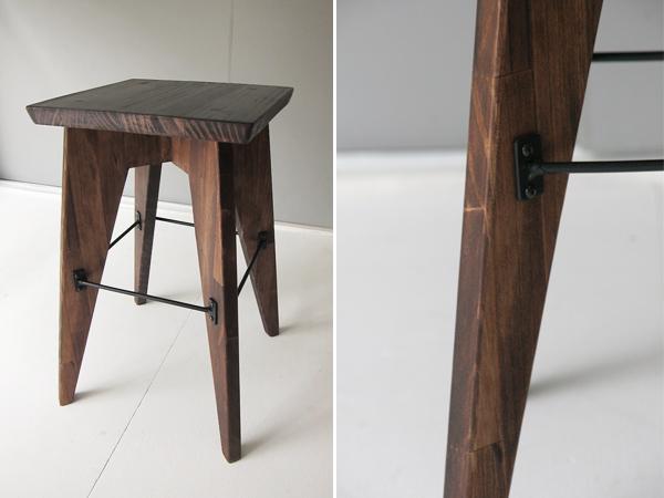 wood stool 1