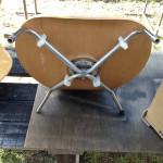 ローチェア座面の裏側