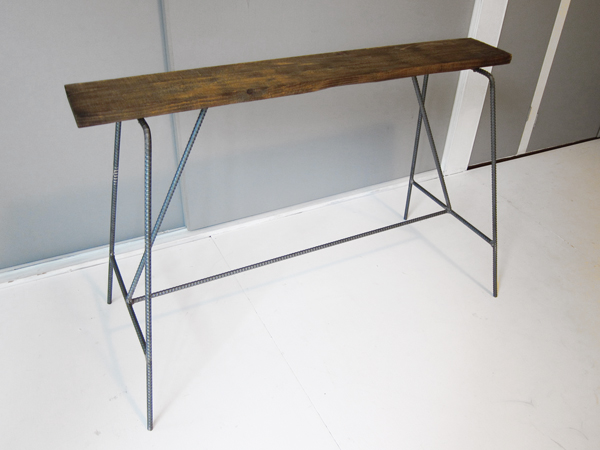 recycle wood bench 2