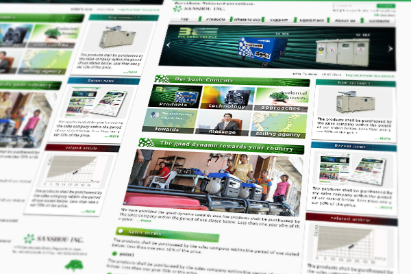 homepage design 10