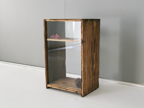 recycle wood showcase