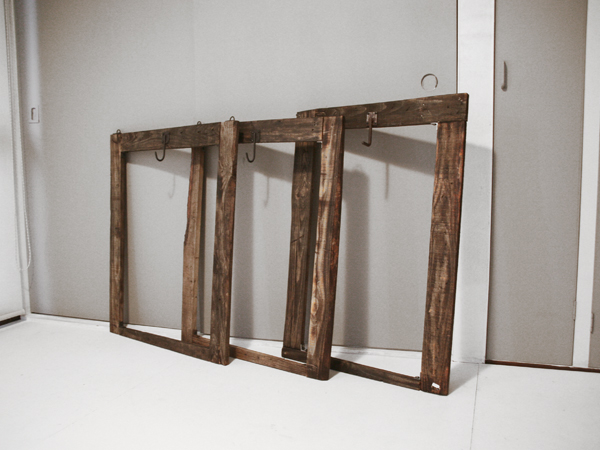 recyclewood flame rack