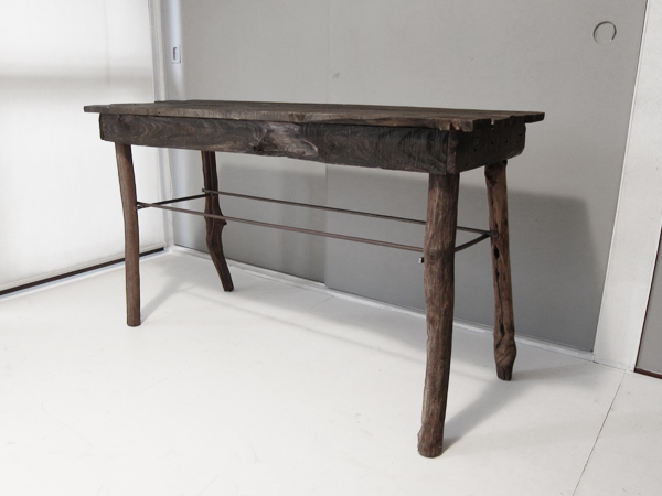 recycle wood table