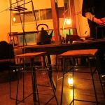 喫茶スロース Good time musicとアイアン家具3