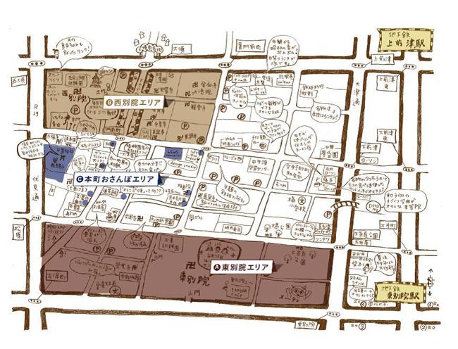 別院てづくり縁市 マップ