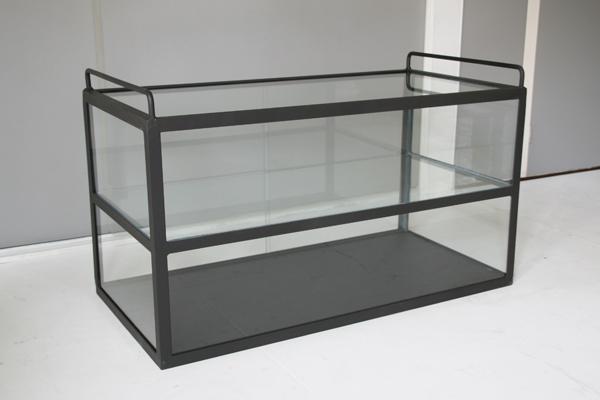 アイアンガラスショーケース 2段