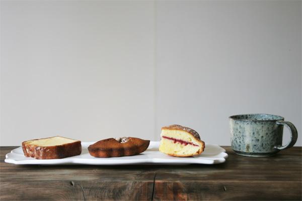 お菓子屋 Riettoの伝統菓子 レモンのウィークエンド、フィナンシェメープルノア、ヴィクトリアケーキ