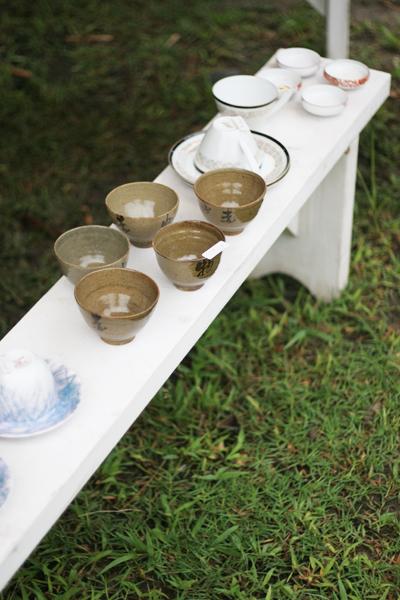 古物屋さんの素敵な茶碗