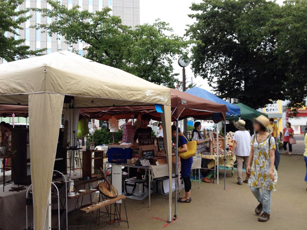 豊田 桜城址公園 STREET & PARK MARKET Tetsu Mokuのブース