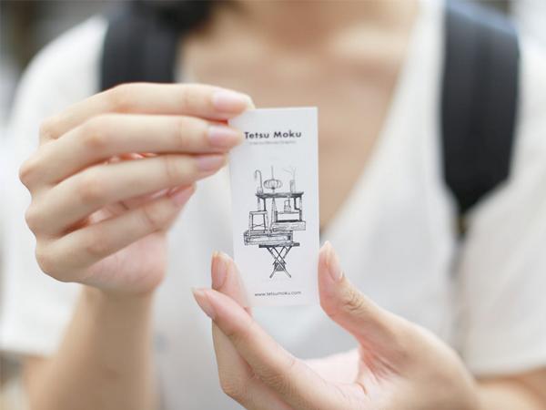 Tetsu Mokuカードを持ってくれているムラナオさん
