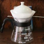 karitaのコーヒーサーバーと蒸らし蓋