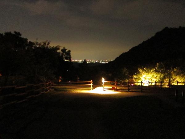 三ヶ日ビレッジ 夜の風景