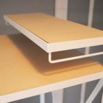 iMacのキーボードを収納できる本体下のスペース