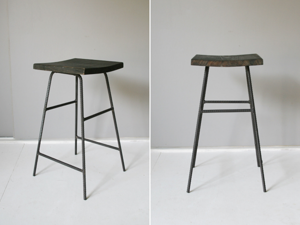 recycle wood stool 3