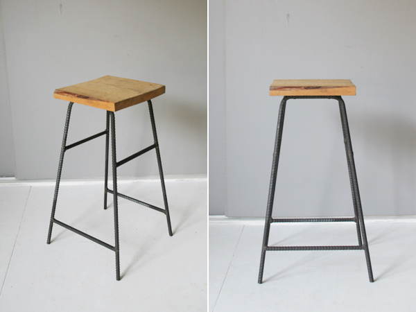 recycle wood stool 2
