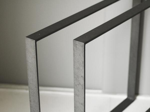 テーブル用 口型の鉄脚
