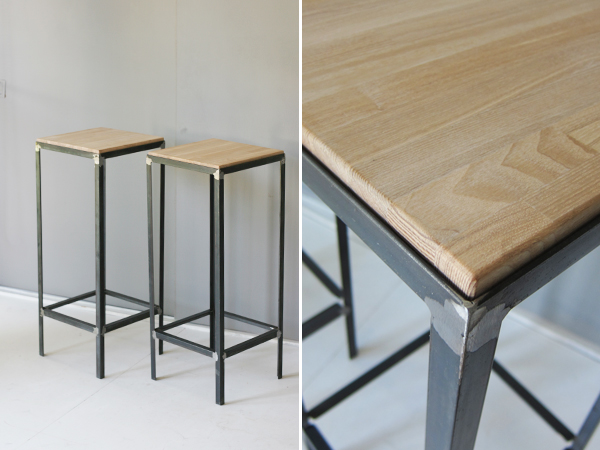 iron high stool 1