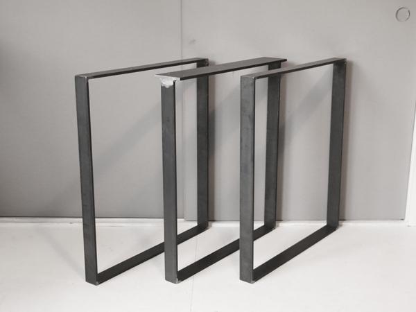 テーブル用 鉄脚 無塗装