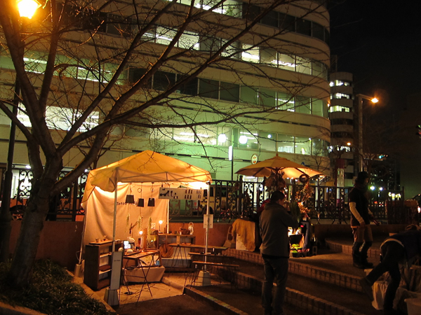 12/25(金)なやばし夜イチに出店してきました!