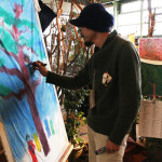 絵のアーティストさん2