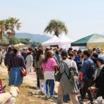 西尾市吉良町の宮崎海水浴場で開催されるイベント「海辺百貨店vol.10」の様子9。