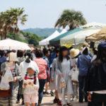 西尾市吉良町の宮崎海水浴場で開催されるイベント「海辺百貨店vol.10」の様子6。