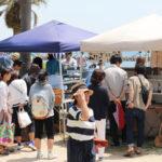 西尾市吉良町の宮崎海水浴場で開催されるイベント「海辺百貨店vol.10」の様子10。