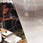 西尾市吉良町の宮崎海水浴場で開催されるイベント「海辺百貨店vol.10」に出店したTetsu Mokuの様子3。