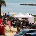西尾市吉良町の宮崎海水浴場で開催されるイベント「海辺百貨店vol.10」の様子5。
