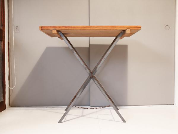 recycle wood folding table 2 tetsu moku