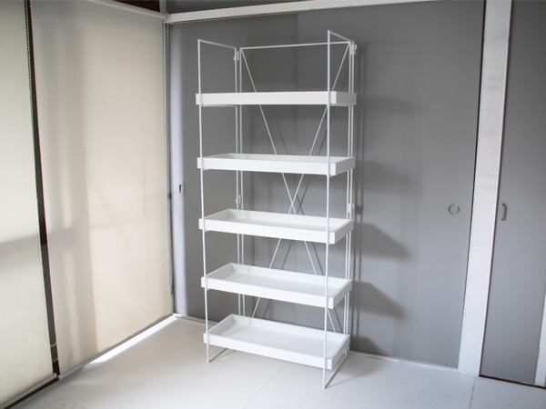 folding tray shelf