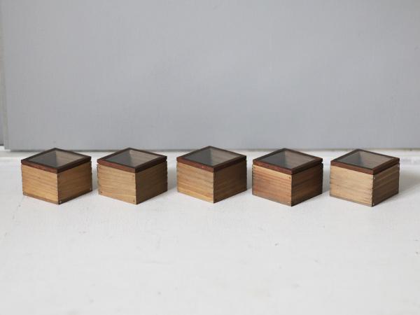 アイアンとガラス蓋のディスプレイボックス タイプ1-1