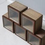 アイアンとガラス蓋のディスプレイボックス タイプ1-2