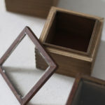 アイアンとガラス蓋のディスプレイボックス タイプ1-3