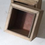 アイアンとガラス蓋のディスプレイボックス タイプ1-7