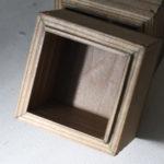 アイアンとガラス蓋のディスプレイボックス タイプ1-8