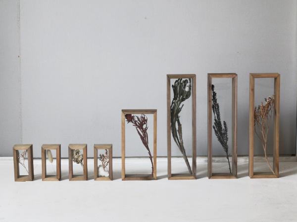 木枠のディスプレイボックス タイプ1-1