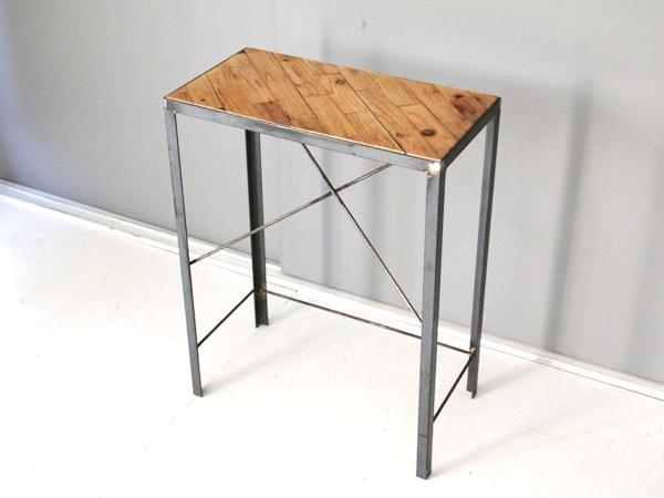 アイアン脚のパッチワークテーブル-1 タイプC