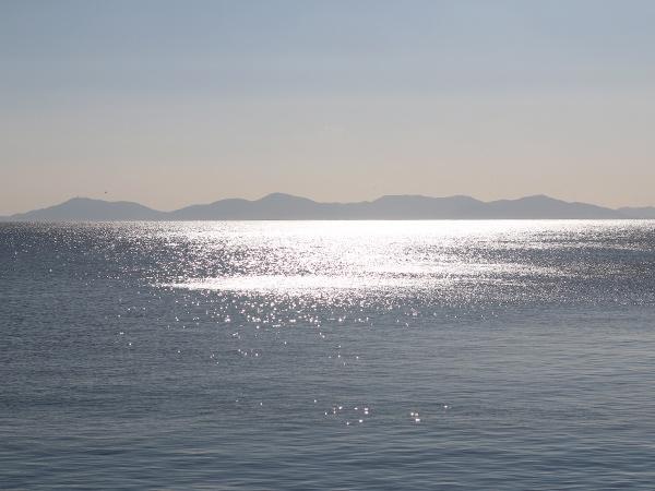 宮崎海水浴場の海辺百貨店vol.11駐車場からの海の景色