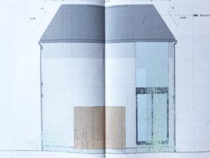建築図面 正面視