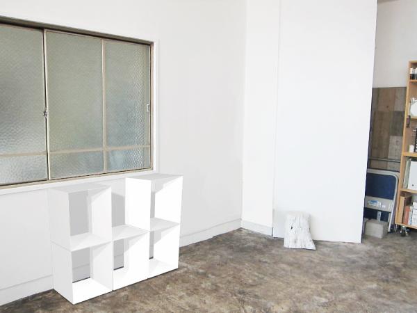 薄板鋼板のシェルフ パース図