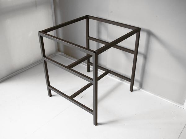 テーブル用アイアン脚 棚板取付可能